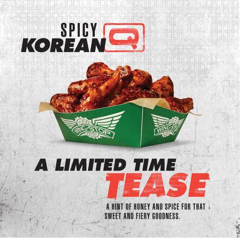 Korean-Inspired Chicken Wings
