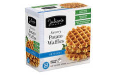 Savory Potato-Based Waffles - These New Potato Waffles Offer a Healthy Alternative to Hash Browns