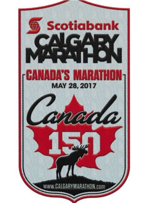 Patriotic Anniversary Marathons - The Calgary Marathon Added an Event for Canada's 150th Anniversary