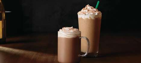 Cayenne-Spiced Coffees - Starbucks' New Chile Mocha is a Spicy Seasonal Sipper