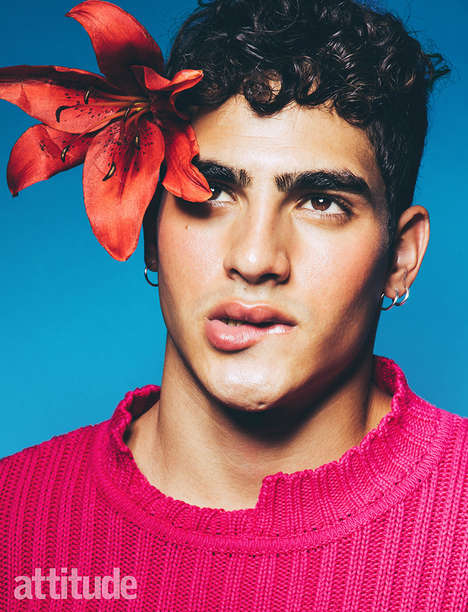 Playful Male-Focused Editorials