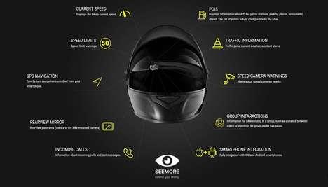 Factory-Fitted Helmet Displays
