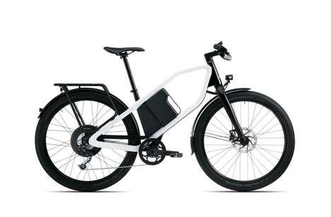 Pentagonally Framed E-Bikes