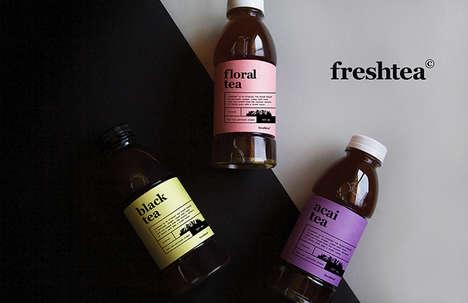 Prepackaged Cold Tea Beverages