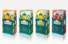 Guilt-Free Dessert Teas - This New Ahmad Tea Range Draws Influence from Lavish Desserts