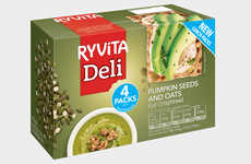 Convenient Lunch Snack Packaging - The New Ryvita Lunch Packs are Focused on Being Quick to Eat