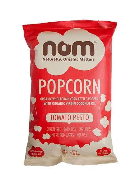 Savory Tomato Popcorn