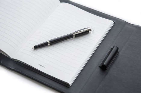 Augmented Writing Kits - Montblanc's Augmented Paper Set Brings Digital Convenience to Note-Taking