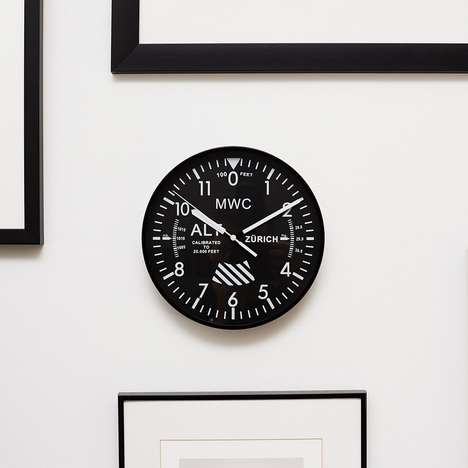 Military Aircraft Clocks