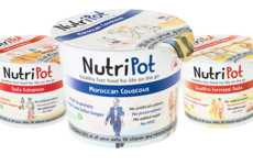 Fiber-Rich Noodle Cups - The Single-Serve NutriPots are a Nutritious Ramen Alternative