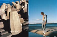Moody Seaside Editorials - The Ones 2 Watch 'On The Rocks' Series Boasts Casual Styles