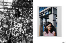 Chic Neighbourhood Editorials - The Ones 2 Watch 'Apsara' Story Shows Couture in an Urban Setting