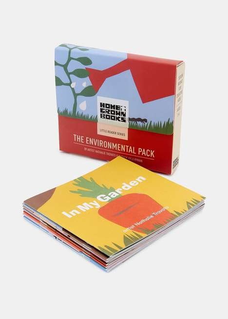 Children's Environmentalist Manuals - Home Grown Books' Environmental Pack is an Eco Book Set