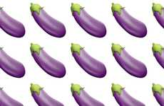 Vegetable-Flavored Contraceptives - The Durex Eggplant Condoms Parody the iOS Emoji