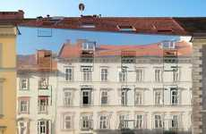Mirrored Historic Buildings - The Hope of Glory Apartments Reflect the Surrounding Architecture