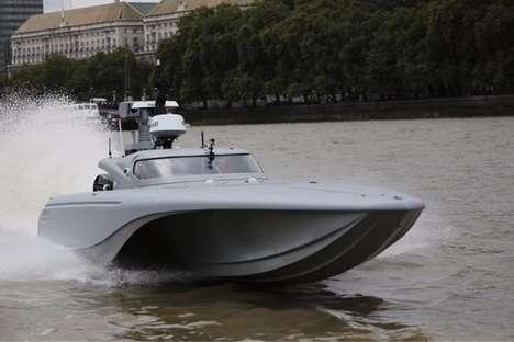 Autonomous Naval Speedboats