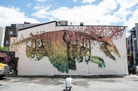 Stunning Science Fiction Murals