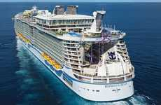 City-Sized Cruise Ships - The Royal Caribbean Cruise Ship 'Harmony of the Seas' is Astounding