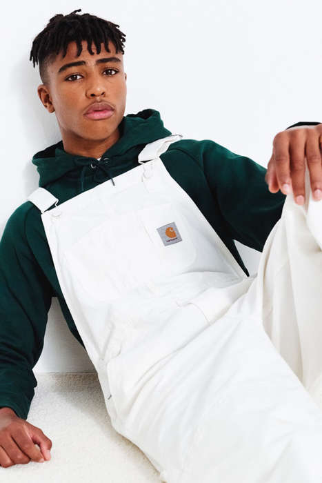 Modernized Men's Workwear - Carhartt WIP's New Looks Revitalize Classic Staples with a Youthful Vibe