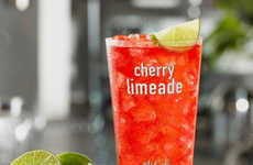 Juice-Infused Sodas - McDonald's is Testing a New Cherry Limeade Drink Made with Sprite