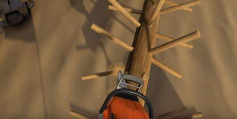 Chainsaw-Simulating Games