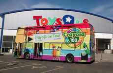 Celebratory Crayon Bus Tours - Crayola's '100 Years of Colour' Bus Tour Entertained UK Kids