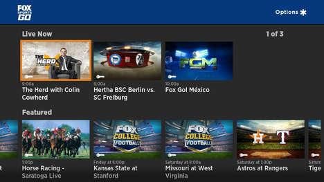 Streamlined Sports Broadcasts