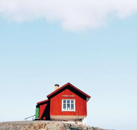 Isolated Home Photography