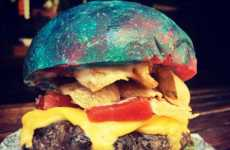 Celebrity-Honoring Rainbow Burgers - Sydney's Bar Luca is Honoring Gene Wilder with a Rainbow Burger