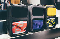 Sporty Footwear Backpacks