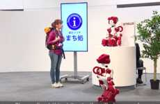 Assistive Airport Robots - Hitachi's 'EMIEW' Robot Helps Travelers at Haneda International Airport