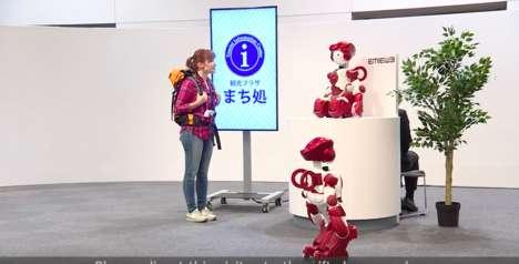 Assistive Airport Robots