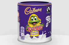 Kid-Friendly Drinking Chocolate - Cadbury's Freddo Chocolate is Now Available as a Hot Beverage