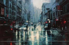 Urban Atmospheric Paintings