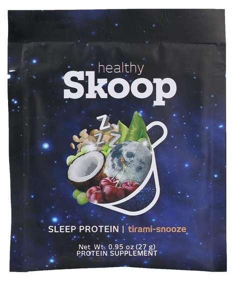 Sleep-Inducing Protein Powders