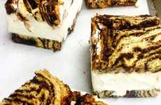 Marbled Ice Cream Sandwiches - 'Russ & Daughters Cafe' Serves Homemade Babka Ice Cream Sandwiches