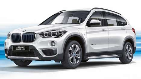 Energy-Efficient SUVs - This Compact Luxury SUV Offers Plug-In Hybrid Performance