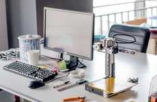 Open-Air 3D Desktop Printers