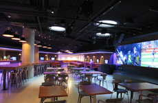 Sleek Campus Entertainment Venues