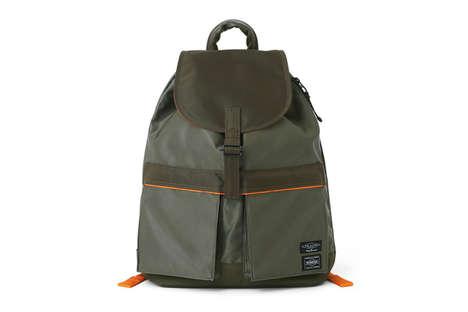 Luxe Nylon Backpacks