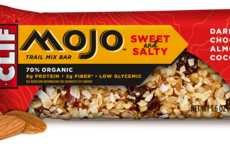 Energizing Snack Bars - The CLIF MOJO Bars are Comprised With Organic Sweet and Salty Ingredients