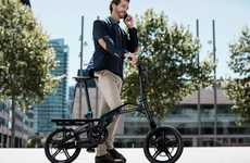 Supplementary Electric Bikes - The Peugeot eF01 Electric Vehicle Bike is Designed for Car Owners