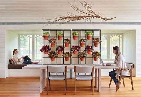 Open-Concept Vertical Indoor Gardens