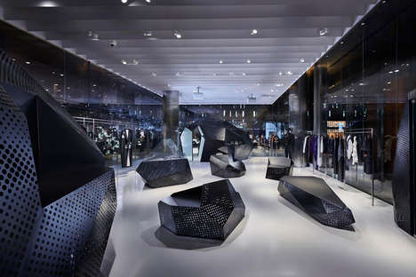 Sculptural Store Displays