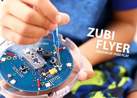 Hackable Toy Kits - The Fuze Play 'Zubi Flyer' Lets Kids Build, Hack and Play