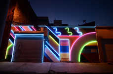 Electric Street Murals - This Vivid Mural Was Designed to Prevent Crime in the Area