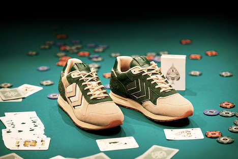 Poker-Inspired Sneakers