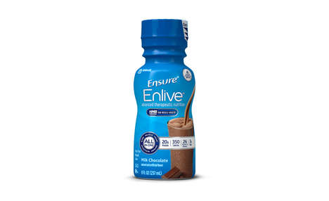 Functional Muscle Recovery Drinks - Abbott's Ensure Enlive Helps Consumers Rebuild Lost Muscle