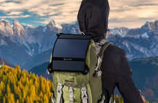 Lightweight Portable Solar Panels - The SunnyBAG LEAF+ Weighs Less than 200 Grams