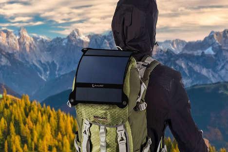 Lightweight Portable Solar Panels